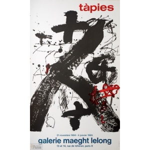 Tapies 1984 Maeght-Lelong